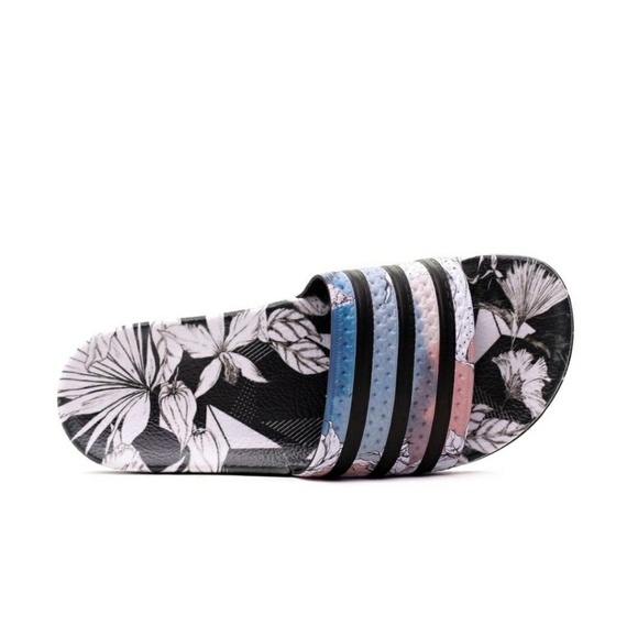76a1301de9c9 adidas Shoes - Adidas Originals Adilette Floral Slides
